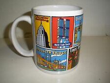 City Merchandise Mug New York City taxi, broadway, Empire, Liberty, UN, Twin Tow