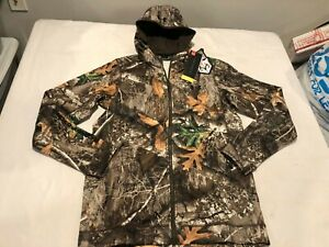 NWT $109.99 Under Armour Mens Stealth Early Season Hoodie Realtree Sz SMALL