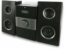Home Audio System Stereo Compact Speakers CD Player AM/FM Radio Remote LCD New
