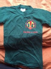 "The Woodcraft Folk Child's T-Shirt In Welsh Size 24"" New Vintage 1990's"