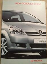 Toyota Corolla Verso Car Brochure - February 2004
