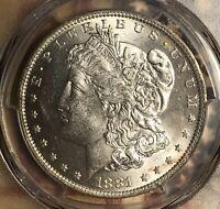 1881-O Morgan Silver Dollar Nice PCGS MS63 Collector Coin. FREE SHIPPING