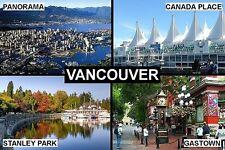SOUVENIR FRIDGE MAGNET of VANCOUVER CANADA