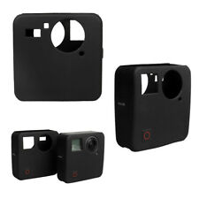 Silicone Cover Housing Case &Lens Cap Protector Kit For GoPro Fusion 360°Camera
