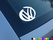 VW SURF LOGO FUNNY CAR STICKER DECAL DUB VAN BUMPER DRIFT CAMPER T4 T5 EURO