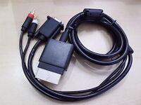 Component HD AV VGA HDAV Digital Optical Audio Monitor Cable Lead for XBOX 360