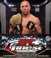 UFC 2013 Finest Trading Card Box