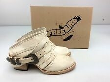 Freebird Lucky Bone Leather Ankle Boots Bootie size 8 M