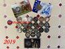 Lot N°3 : 24 Pièces de 2 Euro Commémorative 2019 - UNC