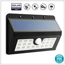 20 LED Bright Solar Power Light Motion Sensor Garden Outdoor Security Wall Lamp