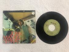 "JOAN MANUEL SERRAT SEÑORA Y FIESTA SINGLE VINILO VINYL 7"" MUY RARO 1970"