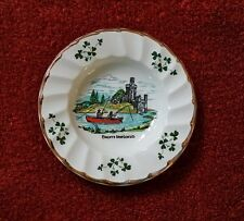 Cork Ireland Carrigaline Pottery Dish from Ireland with Castle and Fishing