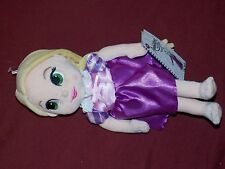 "Disney Parks Store Princess Rapunzel Plush Doll 12"" - Animators Collection New"