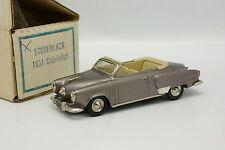 Provence Moulage Kit Monté 1/43 - Studebaker Land Cruiser 1951 Cabriolet