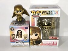 Funko Pop! Gold Wonder Woman Target Exclusive 323 & Wonder Woman Mystery Mini