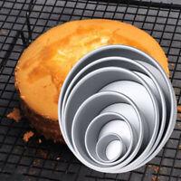 2/4/5/6/8/10 Inch Cake Mold Alloy Round DIY Cake Pastry Mould Baking Tin Pan DIY