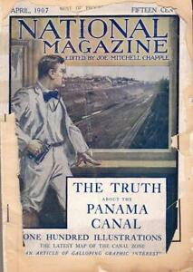 1907 NATIONAL MAGAZINE The Truth About the Panama Canal Illustrated