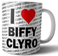 I Love Biffy Clyro Tea-Caffè-Tazza-Tazza Compleanno Regalo di Natale - -