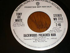 Tony Joe White 45 Backwoods Preacher Man PROMO
