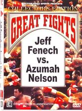 JEFF FENECH VS AZUMAH NELSON 1ST FIGHT  BOXING DVD - ON SPECIAL