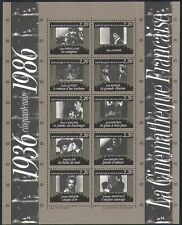 France 1986 Cinema/Films/Actors/Actresses/Acting/Directors/People 10v m/s n36456