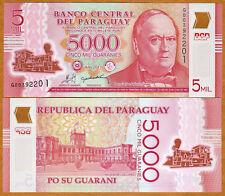 Paraguay, 5000 (5,000) Guaranies 2011 (2013) POLYMER, P-234, UNC
