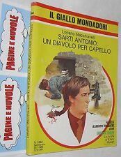 macchiavelli SARTI ANTONIO : UN DIAVOLO PER CAPELLO giallo 1642 - ( 1980 ) (G3)