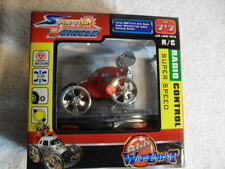RED SPEED KING REMOTE CONTROL RC SUPER Spin Top Vehicle Car Mint In Box 27MHZ