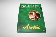 Amelie (Dvd 2002 2-Disc Set, Special Edition) Audrey Tautou, Mathieu Kassovitz