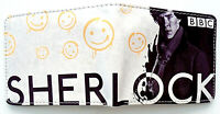Sherlock Wallet purse card slots id window zip pocket Benedict Cumberbatch BBC