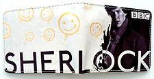 Sherlock Wallet purse card slots id window zip pocket Benedict Cumberbatch BBC