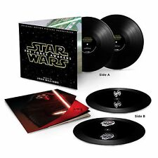 John Williams Star Wars The Force Awakens Black Vinyl Hologram LP New & Sealed