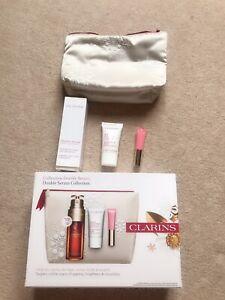 clarins christmas Double Serum collection Gift Set 50ml serum + flash balm + lip
