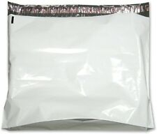"""100 Gusseted Flat Poly Mailers 28"""" x 30"""" + 6"""" Gusset 2.5 mil Thickness"""
