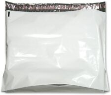 "100 Gusseted Flat Poly Mailers 24"" x 21"" + 6"" Gusset 2.5 mil Thickness"