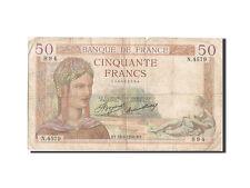 Billets, 50 Francs type Cérès #205487