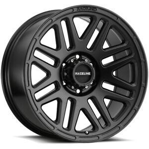 "Raceline 944B Outlander 14x6 5x4.5"" +0mm Satin Black Wheel Rim 14"" Inch"