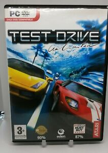 Test Drive Unlimited PC DVD ROM Game 2008