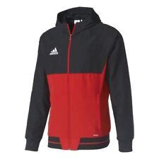 Adidas Herren Trainingsanzug Tiro 17 Pres Suit , Rot/Schwarz , L , Neu