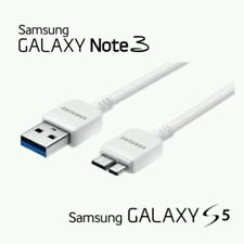 2x USB 3.0 Data Charger Charging Cable Sync Lead for Samsung Galaxy S5 / Note 3