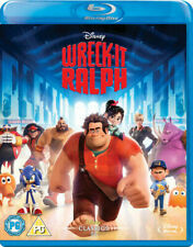 Wreck-It Ralph [Blu-ray] [Region Free] (2013) - Excellent Condition