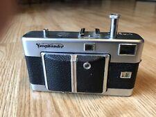 Vintage Voigtlander Vitessa 35mm Camera  w/ Color-Skopar Lens 1:3.5 / 50
