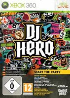 DJ Hero (Game Only) (Xbox 360) - Free Postage - UK Seller