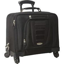 Samsonite Spinner Mobile Office - Black Wheeled Business Case NEW