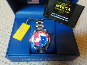 Invicta USA Unisex Grand Diver Watch 38mm 32223: New in Box Limited Ed. 108/1776