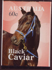 AUSTRALIA 2013 BLACK CAVIAR RACE HORSE SELF/AD. UNMOUNTED MINT, MNH