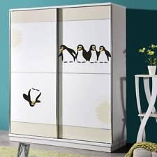 Removable Home Decals Penguin Mural Waterproof Refrigerator Sticker