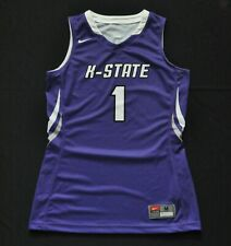 big sale 86b55 f4d9c KANSAS STATE UNIVERSITY KSU WILDCATS  1 NIKE BASKETBALL PURPLE JERSEY  WOMENS M