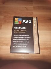 AVG Ultimate [Security, Privacy and Performance] 2020, 10 Devices 1 Year Mac/PC