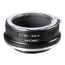 New K&F Concept adapter for Pentax K PK mount lens to Canon EOS RF R5 R6 camera